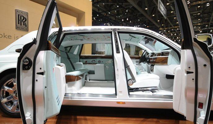 Uzak Doğu Sanatından İlham Alan Araba: Rolls Royce Phantom Serenity