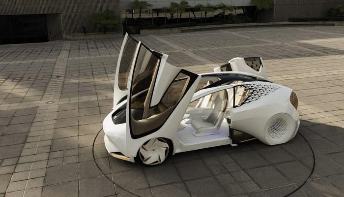 Toyota'nın 2030 Yılındaki Modellerine Işık Tutuyor