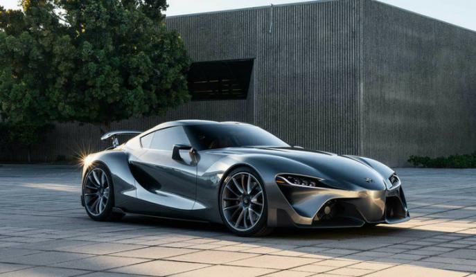 """Toyota'nın Efsanesi Supra Yeniden mi Hayat Buluyor; """"Toyota FT-1"""""""