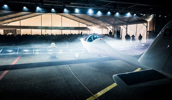 """Uzayın Kıyısında Süzülen Güneş Enerjili Akıl Almaz Bir Uçak: """"SolarStratos"""""""
