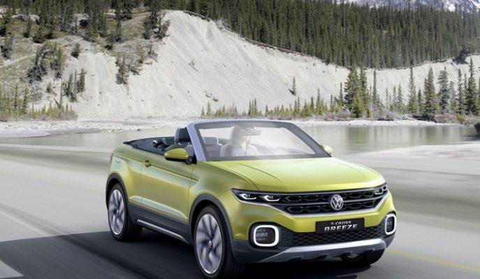 """Volkswagen'den Muhteşem Üstü Açık SUV Konsepti Geliyor; """"T-Cross Breeze"""""""