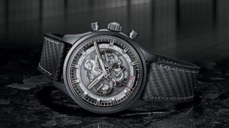 Zenith'in El Primero Serisi Koyu Renkli Skeleton Intense Black Saatiyle Güzelleşiyor!