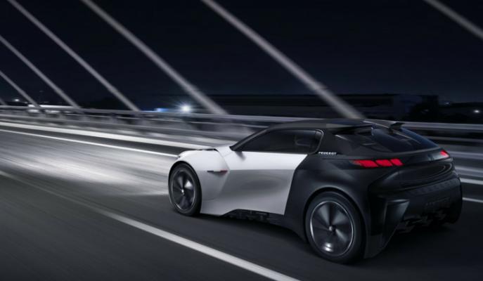Peugeot'un 3D Yazıcı Kullanarak Ürettiği Konsept Modeli: Fractal CC