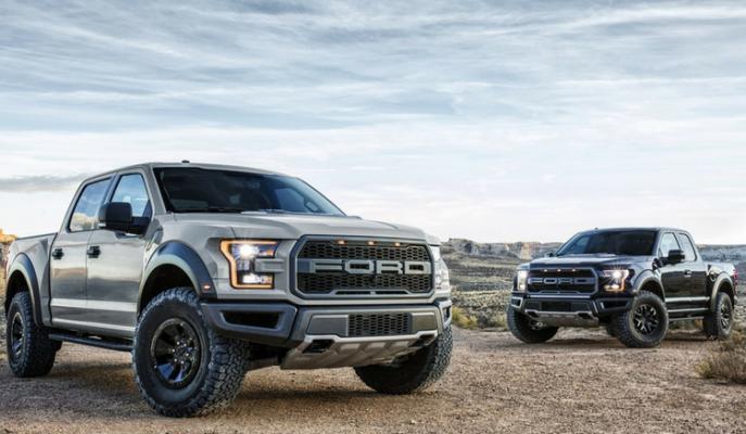 Ford'un Güçlü Pick-up'ı F-150 Modeli SVT Raptor Versiyonuna Dönüştürülüyor!