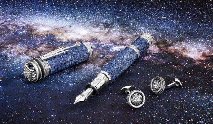Astronominin Prensi'ne Adanmış Astronomik Fiyatlı Montblanc Kalem Koleksiyonu