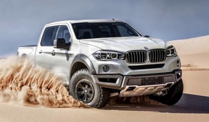 BMW, Mercedes'ten Hiç Geri Kalır mı? İşte Yeni X5 Pick-Up!