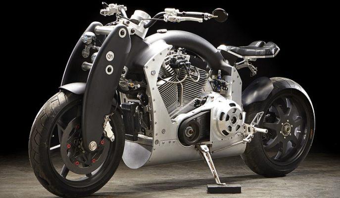 """İlginç Tasarımıyla Dikkat Çeken Bir Motosiklet: """"Confederate Wraith B210"""""""