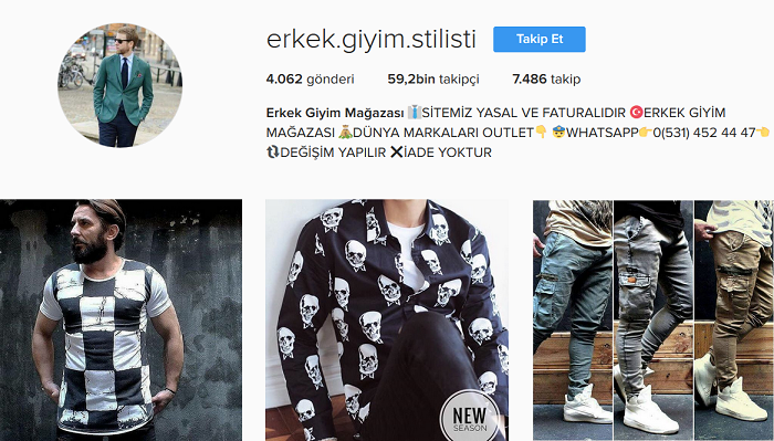 645afb9aec7dc Türkiye'nin En İyi 30 Instagram Butiği ve İsimleri [Kadın – Erkek ...