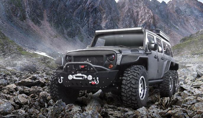 Yeni Jeep TomaHawk Geliyor: Wrangler 6×6