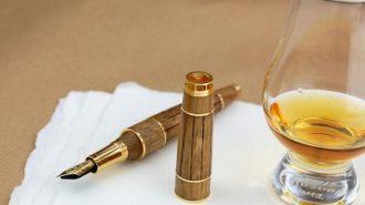 275 Yıllık Konyağı Bünyesinde Barındıran Eşsiz Bir Kalem: Montegrappa Gautier Cognac Pen