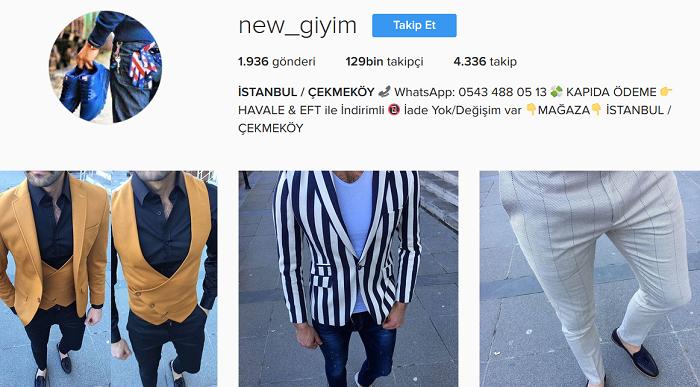 Türkiyenin En Iyi 30 Instagram Butiği Ve Isimleri Kadın Erkek