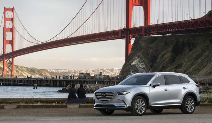 """Yenilenen Tasarımı ile Dikkat Çeken SUV Model: """"Mazda CX-9"""""""