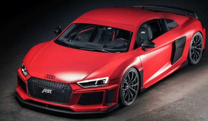 2017 Yeni Audi R8: ABT'nin Kırmızı Şövalyesi