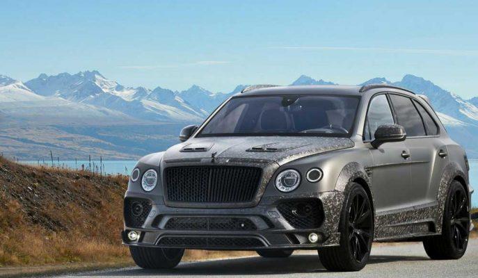 2017 Yeni Bentley Bentayga Mansory Black Editon: Caddelerin Suskunluğu Bozuluyor