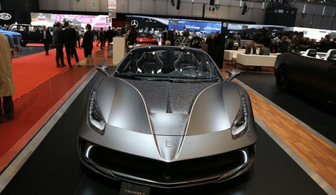 2017 Yeni Ferrari 488 Spider: Mansory Tarafından Siracusa 4XX'e Dönüştürüldü
