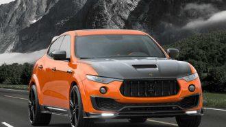 2017 Yeni Maserati Levante Mansory: Cenevre Fuarı'nın En Göz Alıcı SUV'u