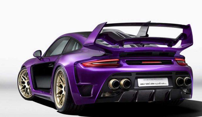 2017 Yeni Porsche 911 Turbo Avalanche : Gemballa ile Tur Rekorları Tekrar Kırılıyor