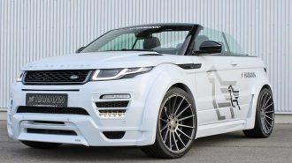 2017 Yeni Range Rover Hamann Evoque Convertible: Cenevre Fuarı'nın Beyaz Terminatörü