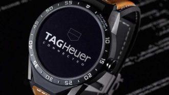 """Altınla Süslenmiş Lüks Bir Akıllı Saat: """"TAG Heuer Connected Watch"""""""