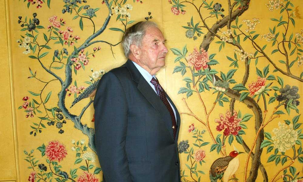 """David Rockefeller: """"Atatürk Yüzünden Planlarımızı Yarım Yüzyıl Ertelemek Zorunda Kaldık"""""""