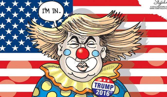Donald Trump Karikatürleri: Tüm Gerçekliğiyle ABD'nin Komik Yüzü!