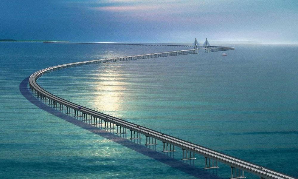 Hangzhou Körfezi Köprüsü – Çin