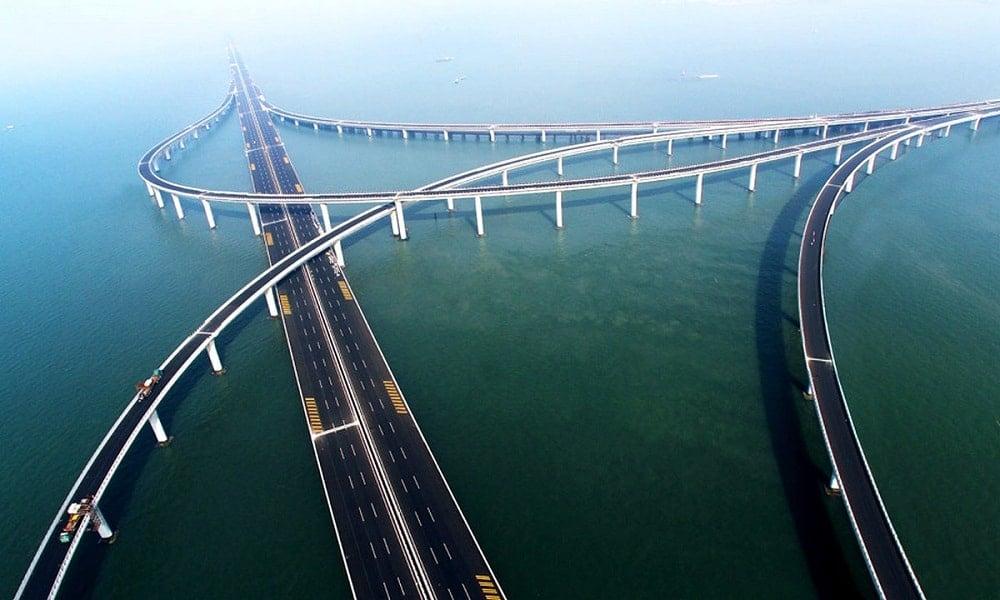 Qingdao Haiwan Köprüsü – Çin