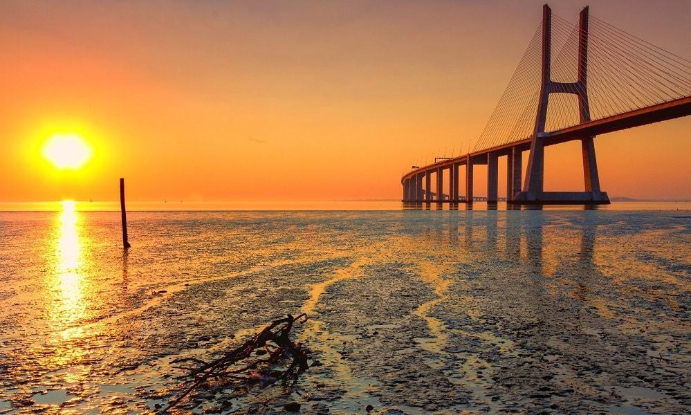 Vasco da Gama Köprüsü – Portekiz