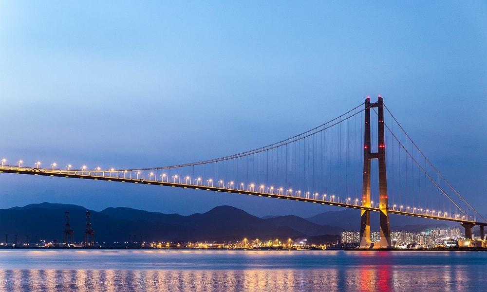 Yi Sun-sin Köprüsü – Güney Kore