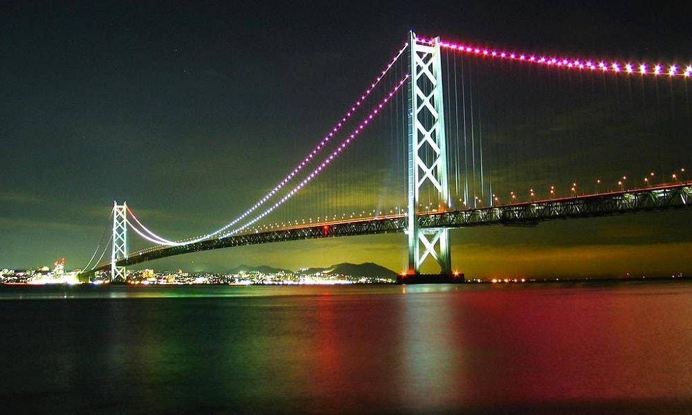 Akashi Kaikyō Köprüsü– Japonya