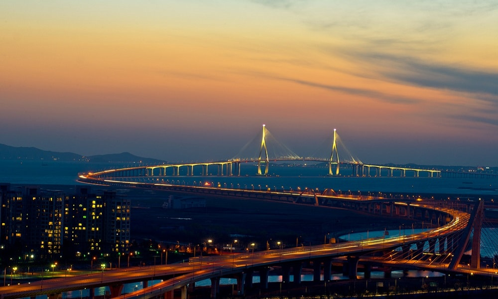 Incheon Köprüsü – Güney Kore