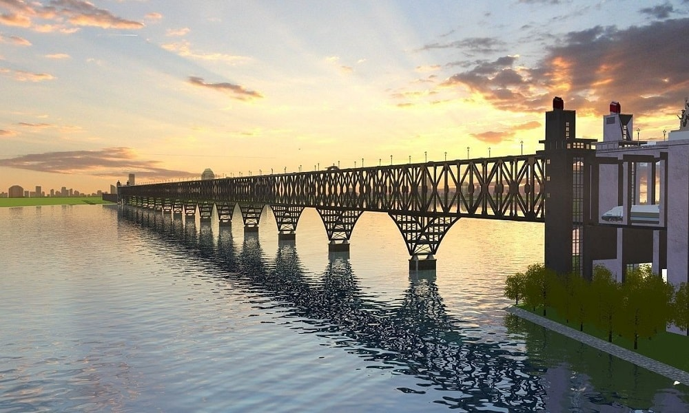 Nanjing Dördüncü Yangtze Köprüsü– Çin