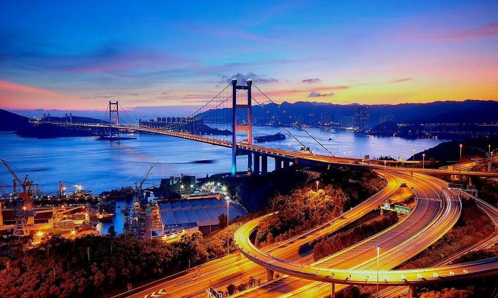 Tsing Ma Köprüsü – Hong Kong