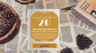 En İyi 20 Şiir Kitabı [Güzel ve Çok Okunanlar Listesi]