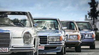 Mercedes Benz S Serisi Fotoğrafları: İlk Üretimden Son Modele Kadar Tarihsel Liste!