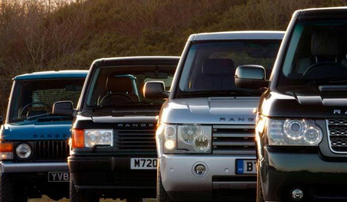 Range Rover Fotoğrafları: İlk Üretiminden Son Modele Kadar Tarihsel Liste!