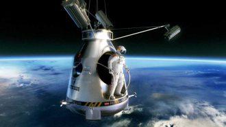 Uzay Boşluğundan Hayallerin Ötesinde Çılgın Bir Atlayış