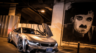 Yeni BMW i8 Cyber Edition: Yollar Geleceği Farklı Görecek