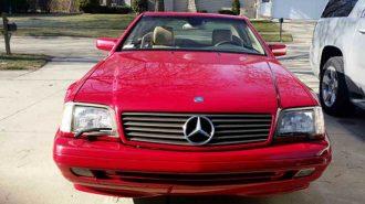 20 Yıl Garaja Hapsedilen Mercedes SL 500'ün İlginç Hikayesi