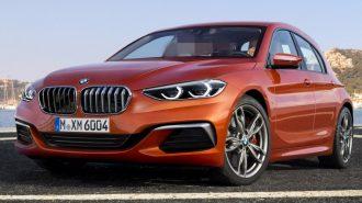 2019 Yeni BMW 1 Serisinin İlk Görüntüleri Çıktı!