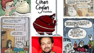 Cihan Ceylan Karikatürleri: Kahkaha Krizine Sokan 101 Efsane Çizim