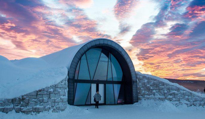"Dört Mevsim Açık Buz Oteli: ""Icehotel 365"""