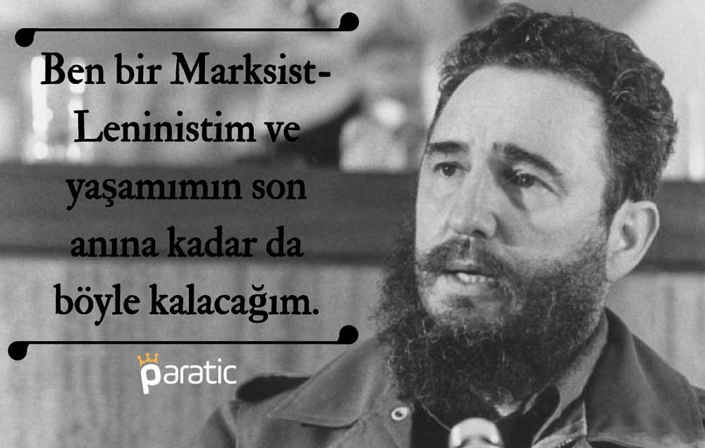 Fidel Castronun ünlü ünlü özdeyişleri ve alıntıları