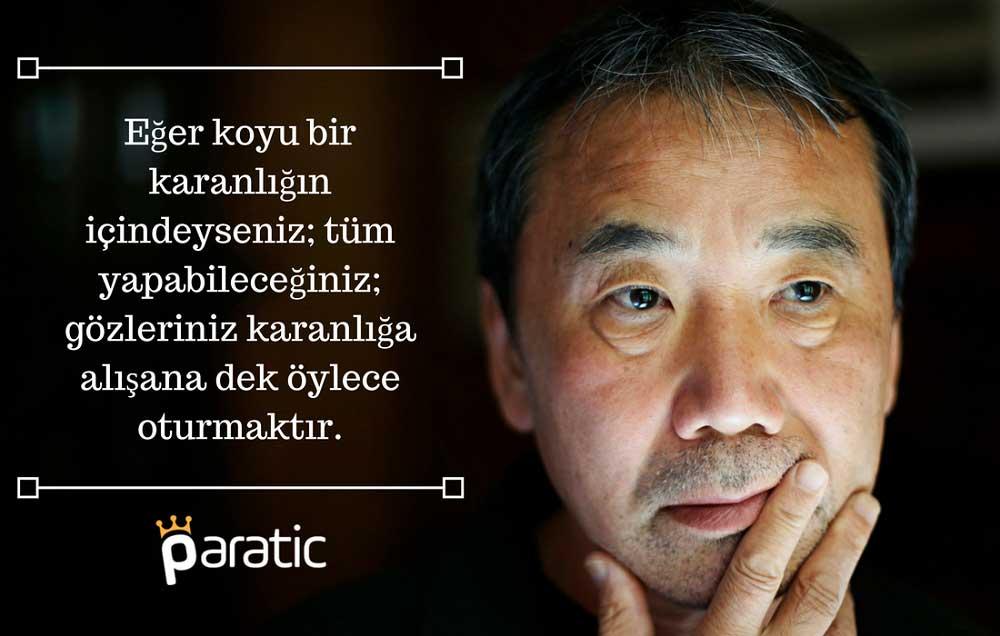 Haruki Murakami Sözleri Yazarlık Hakkında