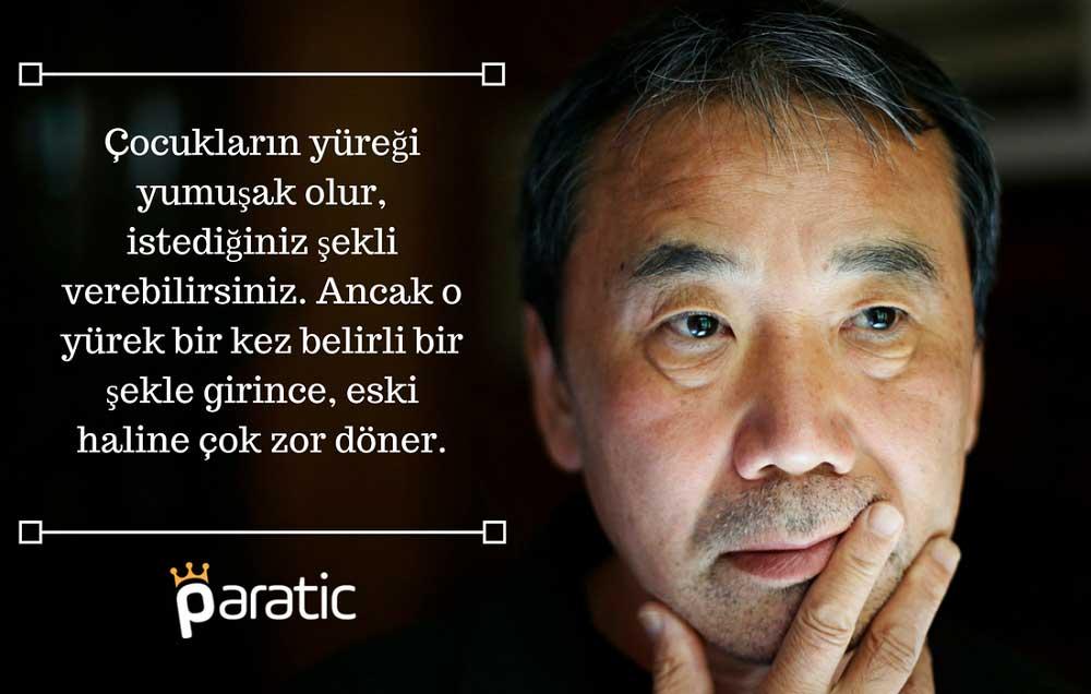Haruki Murakami Sözleri Çocuklar Hakkında