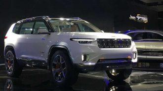Jeep Yeni SUV Modeli ile Range Rover'a Rakip Oluyor!