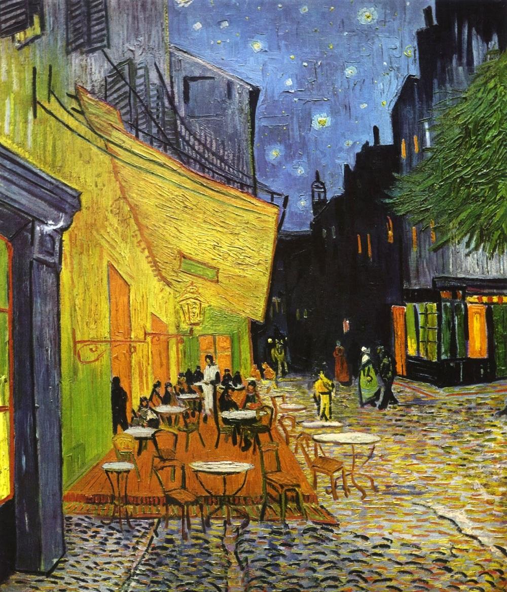 Kafe Terasta Gece