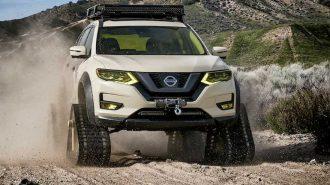 Nissan X-Trail SUV Modelini Yasal Yol Tankına Dönüştürdü!