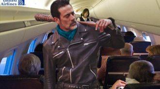 Uçaktan Sürükleyerek Yolcu Atan Havayolu Şirketi United Airlines Borsadan Tokat Yedi