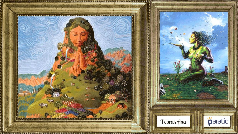 Mitolojik figürlerin açıklamaları